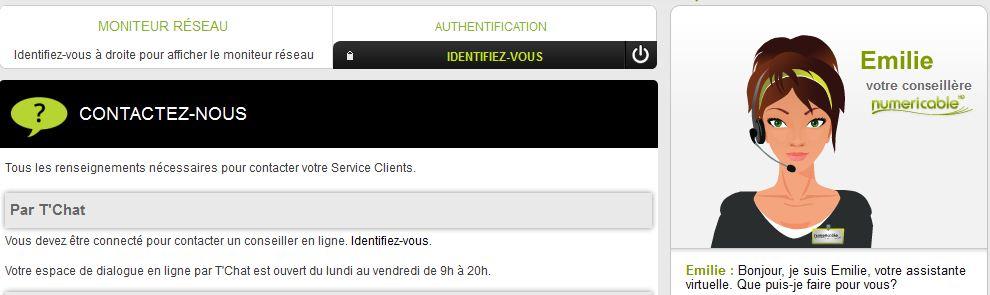 Service Client Numericable