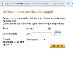 rappel Amazon